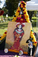 Altar at Day of the Dead (Dia de los Muertos) at Hollywood Forever Cemetery