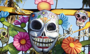 Dios de Los Muertos, Day of the Dead, Hollywood Forever Cemetery