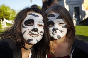 Day of the Dead (Dia de los Muertos) at Hollywood Forever cemetery