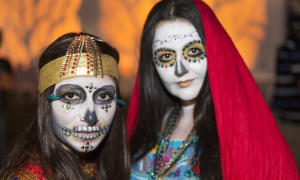"""Day of the Dead"" Hollywood Forever, Oct. 27, 2012"